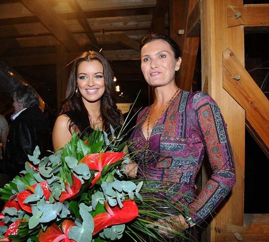 Jitka s šéfkou z České Miss Michaelou Maláčovou.