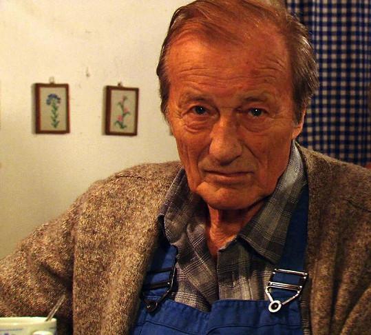 Radoslav Brzobohatý na poslední známé fotce jeho života.