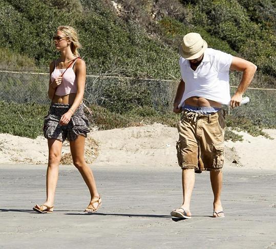 Leonardo s Erin v Malibu.