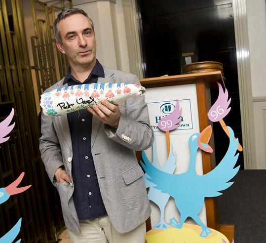 Petr Vacek je zapáleným ekologem a angažuje se také v charitě.