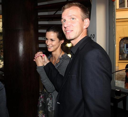 Na akci nechyběla ani Honzova bývalá snoubenka Michaela Strählová. Ta dorazila ruku v ruce s novým partnerem.