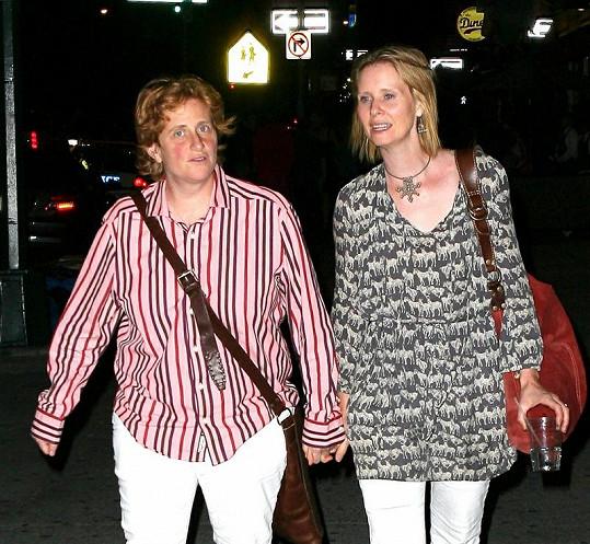 Cynthia a Christine jsou spolu od roku 2004.
