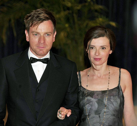 Ewan McGregor s manželkou Eve.