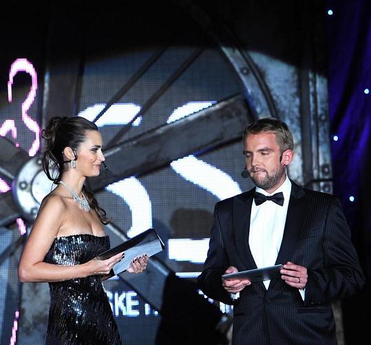 Daniela Písařovicová a Libor Bouček byli skvělou moderátorskou dvojicí.