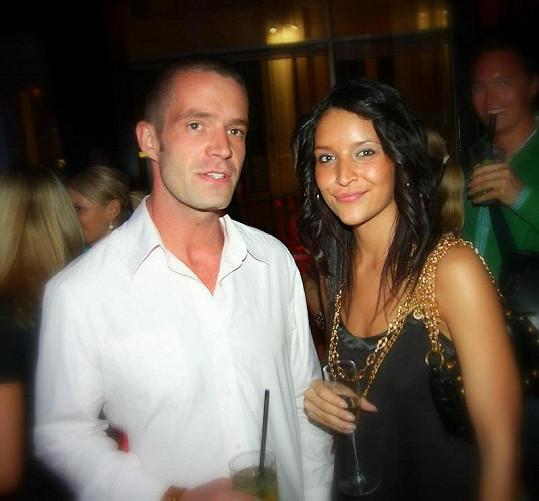 Petr Zvěřina s bývalou láskou Nikolou Plzákovou. Byli spolu pět let.