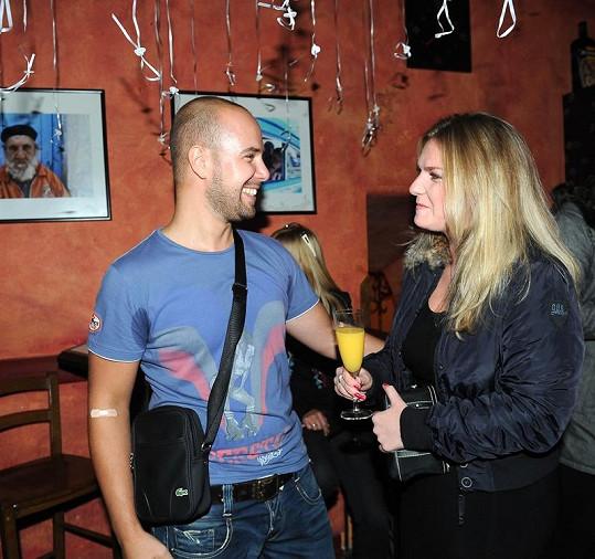 František Soukup s přítelkyní chodí už přes čtyři roky.