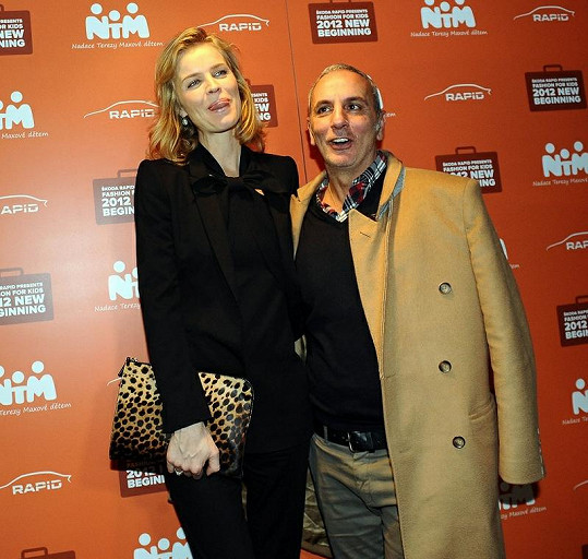 S návrhářem Alessandrem Dell'Acqua.