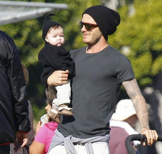 David Beckham je milujícím otcem.