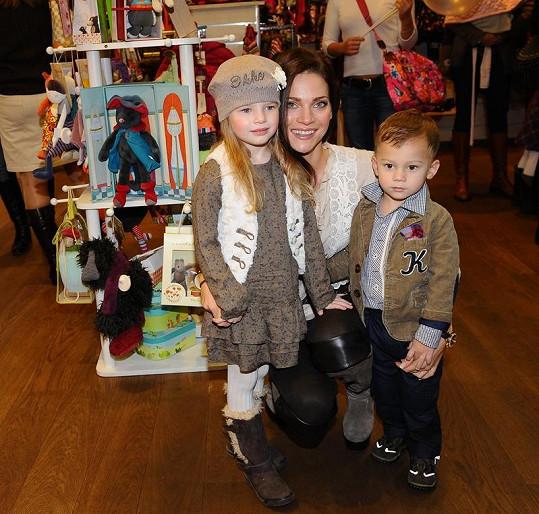 Andrea Verešová je na své děti pyšná.