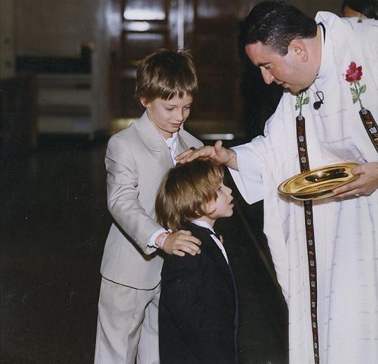 Arnoldův nemanželský syn Josepha.