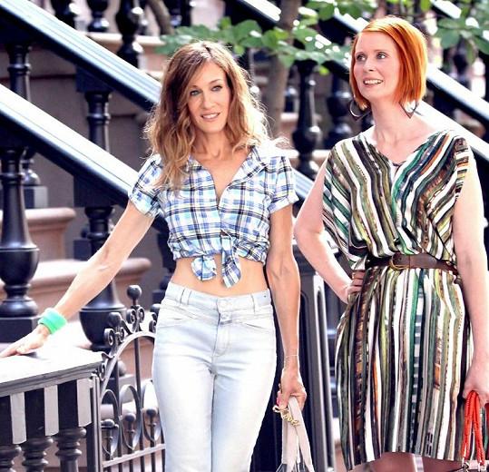 V seriálu Sex ve městě dokázala Sarah Jessica nosit i obyčejné modely s grácií.