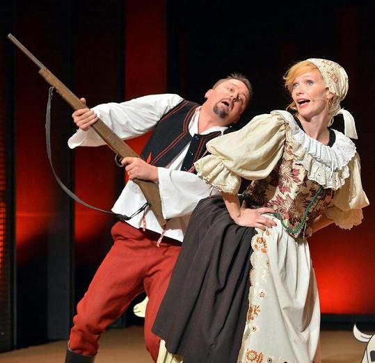 V pořadu se ukáže jako selka i Aňa Geislerová s Markem Danielem.