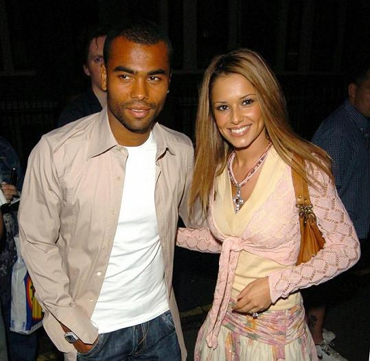 Fotbalista Ashley Cole s bývalou manželkou a zpěvačkou Cheryl.