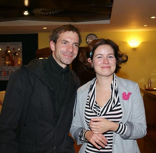 Zuzana a její partner Ondrej Kovaľ