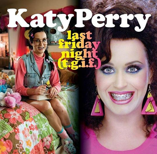 Katy Perry si ze sebe umí udělat legraci.