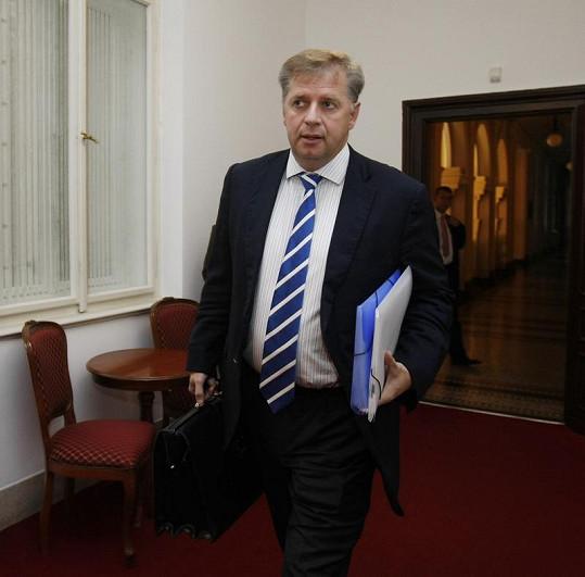 Ministr zemědělství Petr Bendl.
