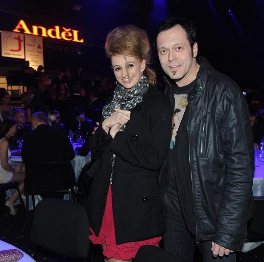 Ivana s manželem Viktorem Dykem.