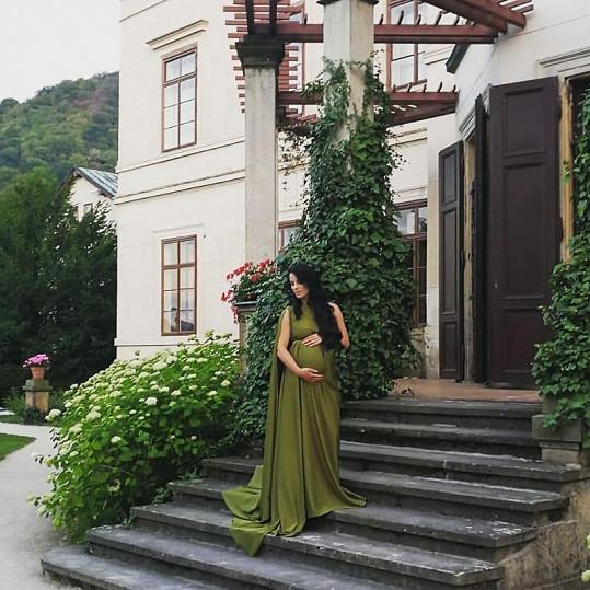 Snímky se fotily na zámku Velké Březno.
