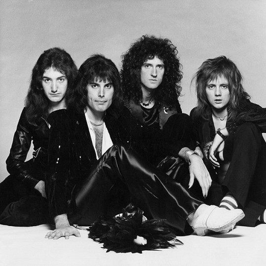 Skupina Queen v roce 1970.