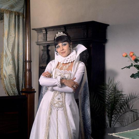 Dáda Patrasová coby princezna Xénie
