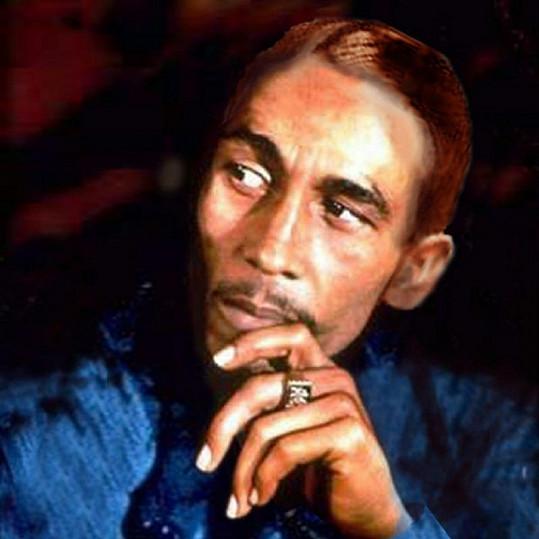 Bob Marley bez svých dlouhých dredů.