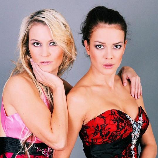 Andrea s Veronikou Stupkovou.