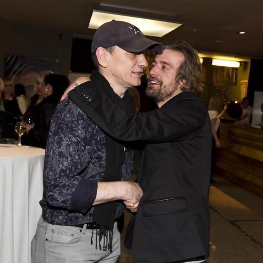 Petr Polák a režisér Lucrezie Libor Vaculík.