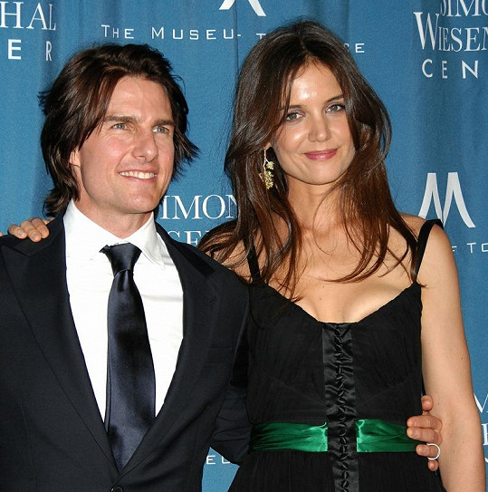 Tom Cruise s Katie Holmes.