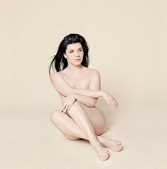 Andrea Kalivodová se fotila nahá.