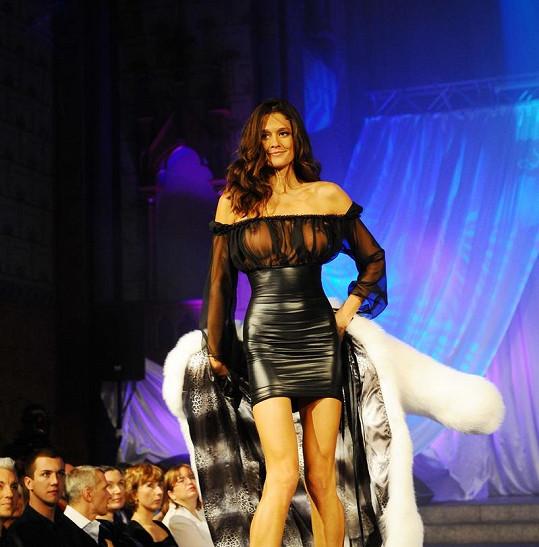 Petra Faltýnová byla hvězdou prestižní módní show.