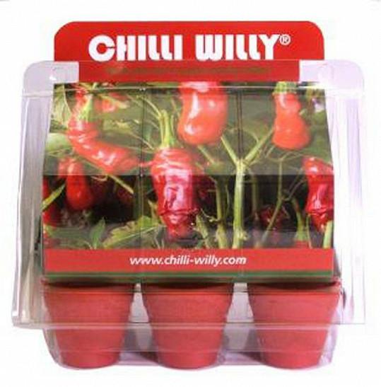 Papričky si můžete vypěstovat sami.