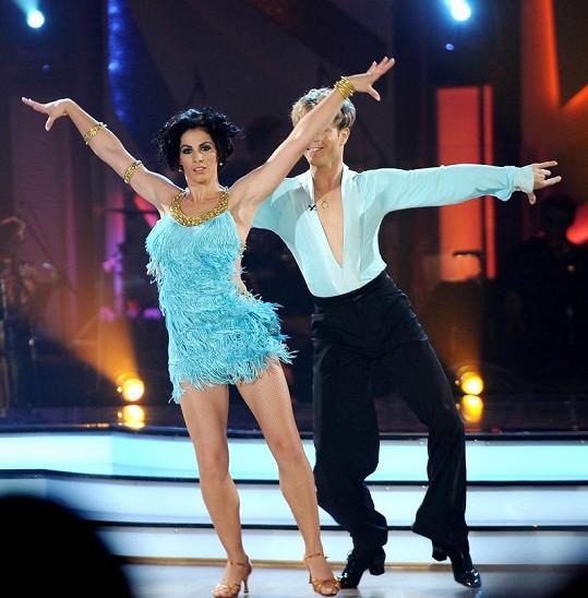 Baďurová ve StarDance dostala vítězného tanečníka Jana Ondera.