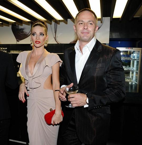 Andrea Verešová s manželem.