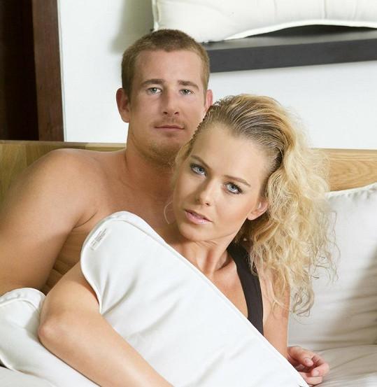 Roman Červenka a Veronika Machová spolu chodí dva roky a mají syna Denise.