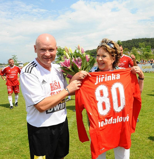 Ivan Hašek a Jiřina Bohdalová