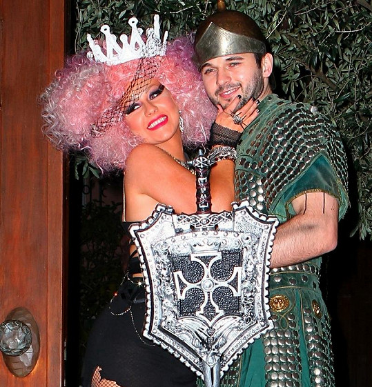 Christina Aguilera a Matthew Rutler.