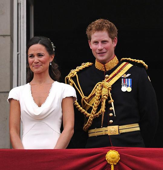 Harry byl spojovaný i s Pippou Middleton.