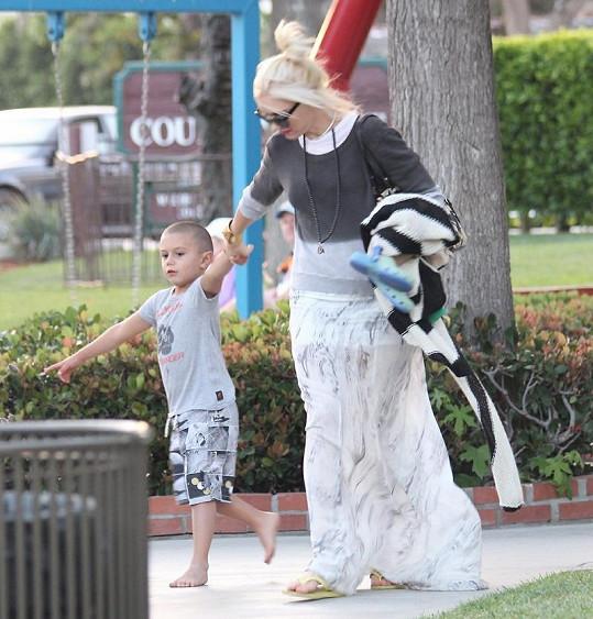 Gwen Stefani a Kingston.