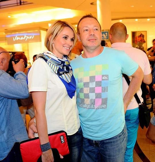 Michal Dvořák a DJ Lucca.