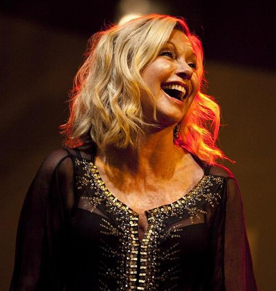 Olivia na koncertě v Chicagu.