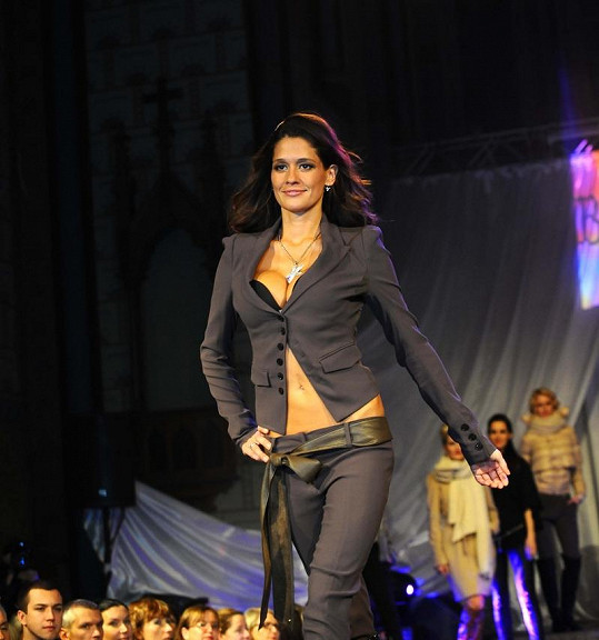 Petra Faltýnová patří mezi naše nejlepší modelky.