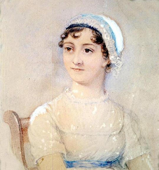 Spisovatelka Jane Austen.