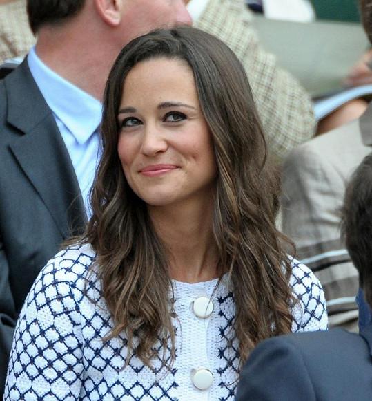 Pippa Middleton na Wimbledonu.