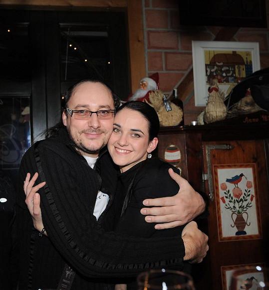 Líba s předposlední láskou, zpěvákem Marianem Vojtkem.