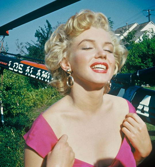 Marilyn Monroe na unikátním snímku od amatérského fotografa Lani Carlsona.