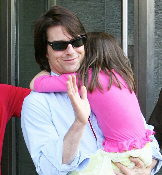 Tom Cruise se Suri.