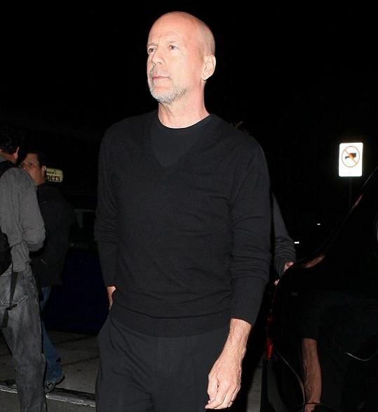 Bývalý manžel Demi Moore Bruce Willis.