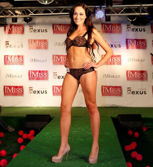 Nikola Hrubá by se ráda věnovala modelingu.