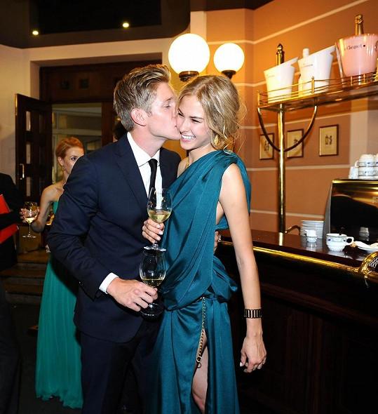 Simona s přítelem Tomášem