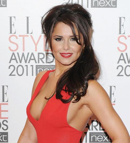 Britská zpěvačka Cheryl Cole.